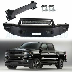 Steel Front Bumper For 2015-2017 Chevrolet Silverado 2500 Complete Assembly