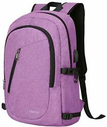 Laptop BackpackTravel Computer Backpacks for Women amp; MenAnti 15.6inch Purple $36.85