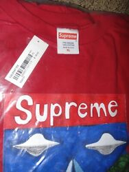 Supreme Sailboat Tee Red Menand039s Xl T-shirt Ss20 Free Box Logo Sticker Included