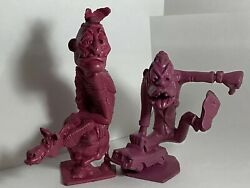 1963 Marx Nutty Mads Donald The Demon And Chief Lost Teepe Weird-ohs