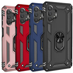 For Samsung Galaxy A32 A42 A52 A71 A51 5g Ring Kickstand Case Shockproof Cover