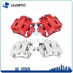 Front + Rear Brake Calipers Pairs For 1999 Ford F-350 F-250 Super Duty 2+2