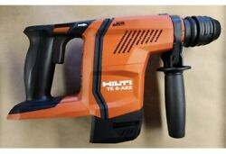 Brand New Hilti Te 6 A22 Rotary Hammer Drill Includes 1 One New 4.0 Ah Battery