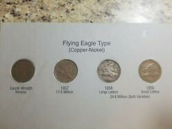 1857-1909 Indian Head Penny Cent Collection - Complete 58 Coin Set