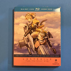 Last Exile Fam The Silver Wing - Part Two Blu-ray/dvd, 2013, 4-disc Set New