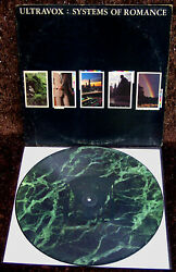 Ultravox Systems Of Romance Quartet Picture Disc 1982 Electro New Wave Synth-pop