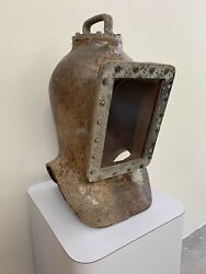 Rare Early 20th Century Cast Iron Shallow Diving Diver's Helmet