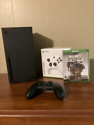 Xbox Series X Bundle - Call Of Duty Cold War + Controller White