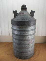 Rare Antique 10 Gallon Standard Oil Can Sexton Can Co Gas And Oil Service Station