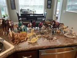 Breyer Horses Lot Of 24 Total Horses 14 Are Indeed Breyer Please Read Notes