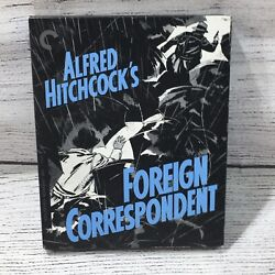 Foreign Correspondent Blu-ray+dvd Criterion Collection Alfred Hitchcock Dual
