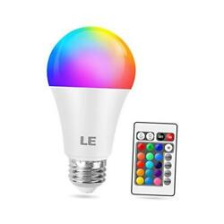 9w Color Changing Light Bulbs With Remote Dimmab D Light Bulb 60w Equivant 1