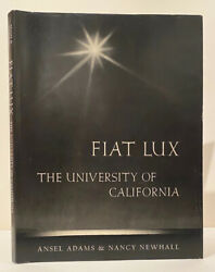 Ansel Adams Nancy Newhall / Fiat Lux Signed 1st Edition 1967