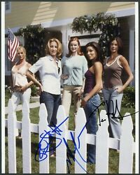 Desperate Housewives Cast Signed 8x10 X3 Photo Teri Hatcher Felicity Huffman +1