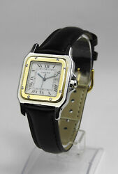Santos Galbee Automatic Movement Watch 30mm - 18k Real Solid Gold Bezel