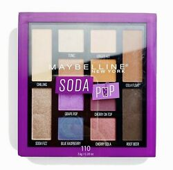 Maybelline Soda Pop Eyeshadow Palette 12 Shade Matte And Shimmer 110 New