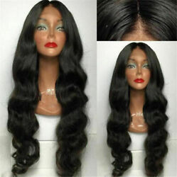 Loose Wave Brazilian Glueless Full Lace/lace Front Wig Virgin Hair 150/180 12a