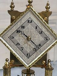 Vintage Kenninger And Obergfell Kundo 400 Day Anniversary Clock Part Or Repair