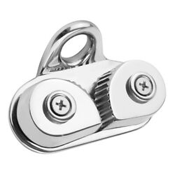 316ss Stainless Steel Marine Sailboat Cam Cleat With Leading Ring Rope