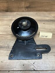 Jacobsen Turfcat Tg445g Cooling Fan Bracket And Pulley 1001689 361850 2000092