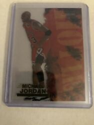 Michael Jordan 96-97 Nba Hoops Hot List 8 Of 20 Acetate Hof Goat 🔥 Rare