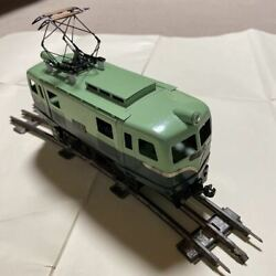 Keihan Train Eb5828 Model Railroad Tinplate Toy Retro Antique