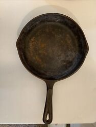 Vintage Wagnerandrsquos 1891 Cast Iron 10-1/2andrdquo Skillet Made In Usa Cast Iron Cookware