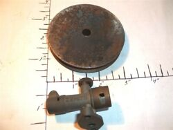 Vintage 40and039s Ignition Model Engine Big Flywheel - Need Zenith Carb Part.