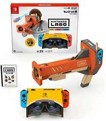 Nintendo Labo Toy-con 04 Vr Kit Little Edition Bazooka Only Switch Japan F/s