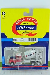 Athearn 91928 Kenworth Cement Mixer Truck Usa 187 Scale Ho