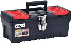 Meijia Portable Handle Storage Home Organization Tool Box With Removable Inside