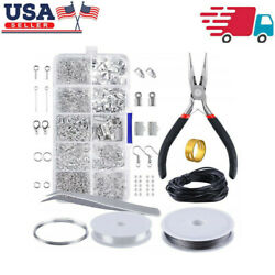 1 Set Jewelry Making Kit Wire Anklets Sterling Beading Repair Tools Craft Making