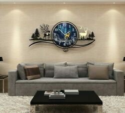 Large Clock Modern Quality Acrylic Watch Bedroom Wall Decoration Interior House