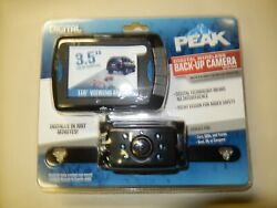 Peak Performance Wireless Back Up Camera System 3.5 Inch Screen New