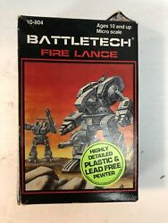 Battletech Fire Lance Miniatures, Lead-free Pewter And Plastic, Ral Partha
