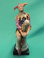 Royal Doulton The Jester Figurine Hn 2016 Minty Condition