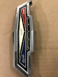 1963 Ford Galaxie 500and Xl Front Grill Emblem Hood Release Handle