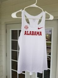 New Rare Made In Usa Nike Sec Alabama Track And Field Team Issued Singlet Medium