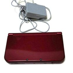 New Nintendo 3ds Ll Metallic Red Handheld System From Japan