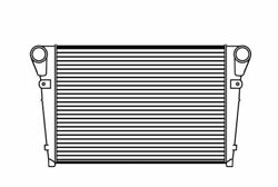 Fits A 2001-2005 Mack Ch613 Chn613 Charge Air Cooler W/ Bar And Plate