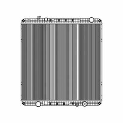 Fits A 2008 2009 2010 Freightliner M2 106 Series Radiator