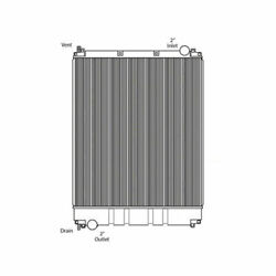 Fits A 2008-2011 Freightliner M2 106 Series Heavy Duty Radiator