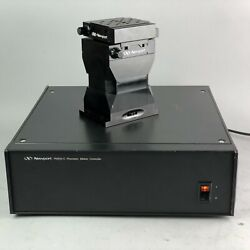 Newport Pm500-c Controller And Pm1v 110026 Precision Motorized / Manual Xyz Stage
