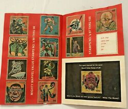 Marvel Value Stamp Book-complete W/ Bonus Galactus-stan Lee 1974-spiderman-thor