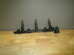 Sea Doo 03-12 Challenger Rxt Supercharged Fuel Rail W/ Injectors 420874391