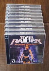 Video Game Pc Wholesale Lot Of 10 Tomb Raider The Angel Of Darkness Lara Croft