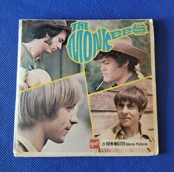 Gaf Vintage B493 The Monkees Davy Jones Band Tv Show View-master 3 Reels Packet