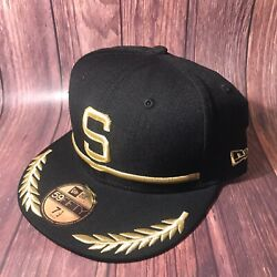 Rare Seattle Pilots Mlb Cooperstown New Era 5950 Fitted/ Sz 7 1/2