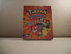 1999 Topps Pokemon Tv Animation Edition Factory Sealed Box With 36 Packs