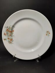 Rare Porcelain Decorative Plate Dulyovo Porcelain Factory 1930-35 Year